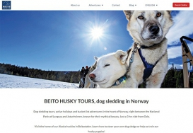 Beito Husky Tours - Website
