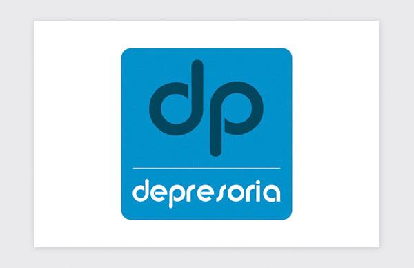 Diseño y creación de logotipo para Depresoria (original)