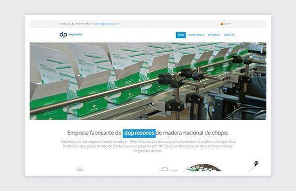 Responsive website of Depresoria.