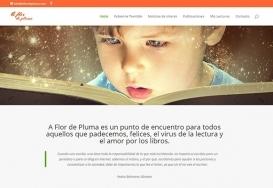 A Flor de Pluma - Web Blog