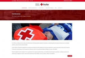 Spanish Red Cross - Professional Training Website