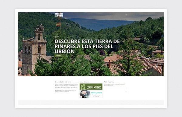 Página oficial del Ayuntamiento de Molinos de Duero (Soria).