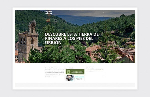 Official website of the Town Hall of Molinos de Duero (Soria).