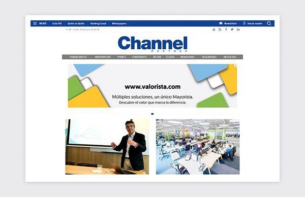 Design and Html 5 Responsive layout of Channel Partner magazine