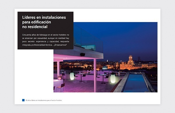 Diseño y creación de dossier de presentación para Agüero Instalaciones