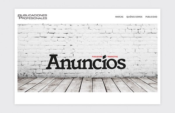 Custom design and layout Html 5 Responsive of Publicaciones Profesionales website