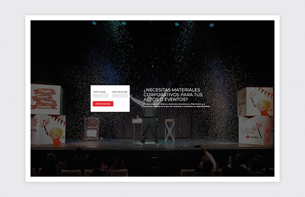 Página de inicio plataforma reservas online Cruz Roja Madrid