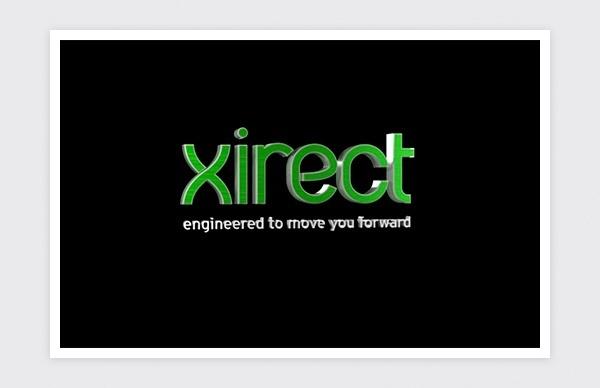 Desarrollo 3D para el logotipo de Xirect