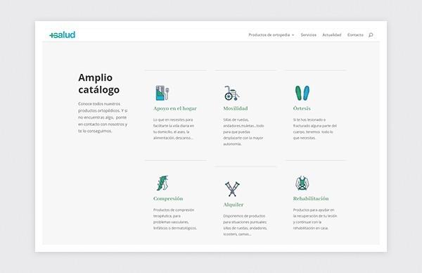 Catálogo de productos de +Salud