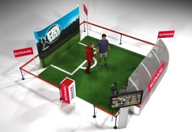 Buena Onda - Computer graphics PES Star 2010 Konami Stand