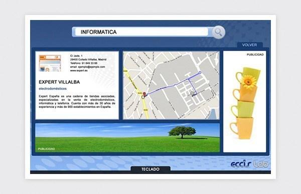 Ficha individual de la aplicación web.